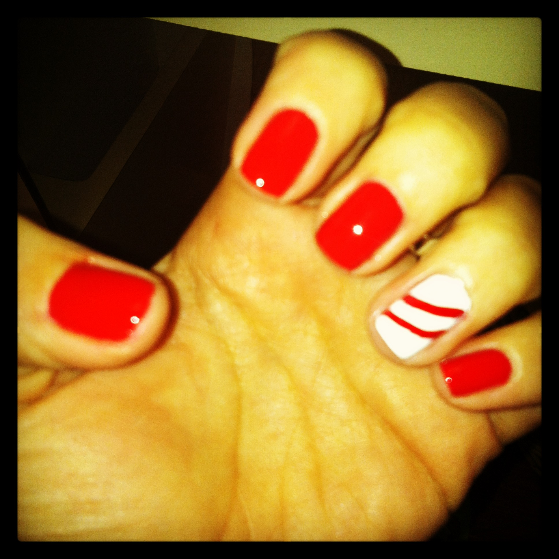 RED my fortune cookie~ OPI