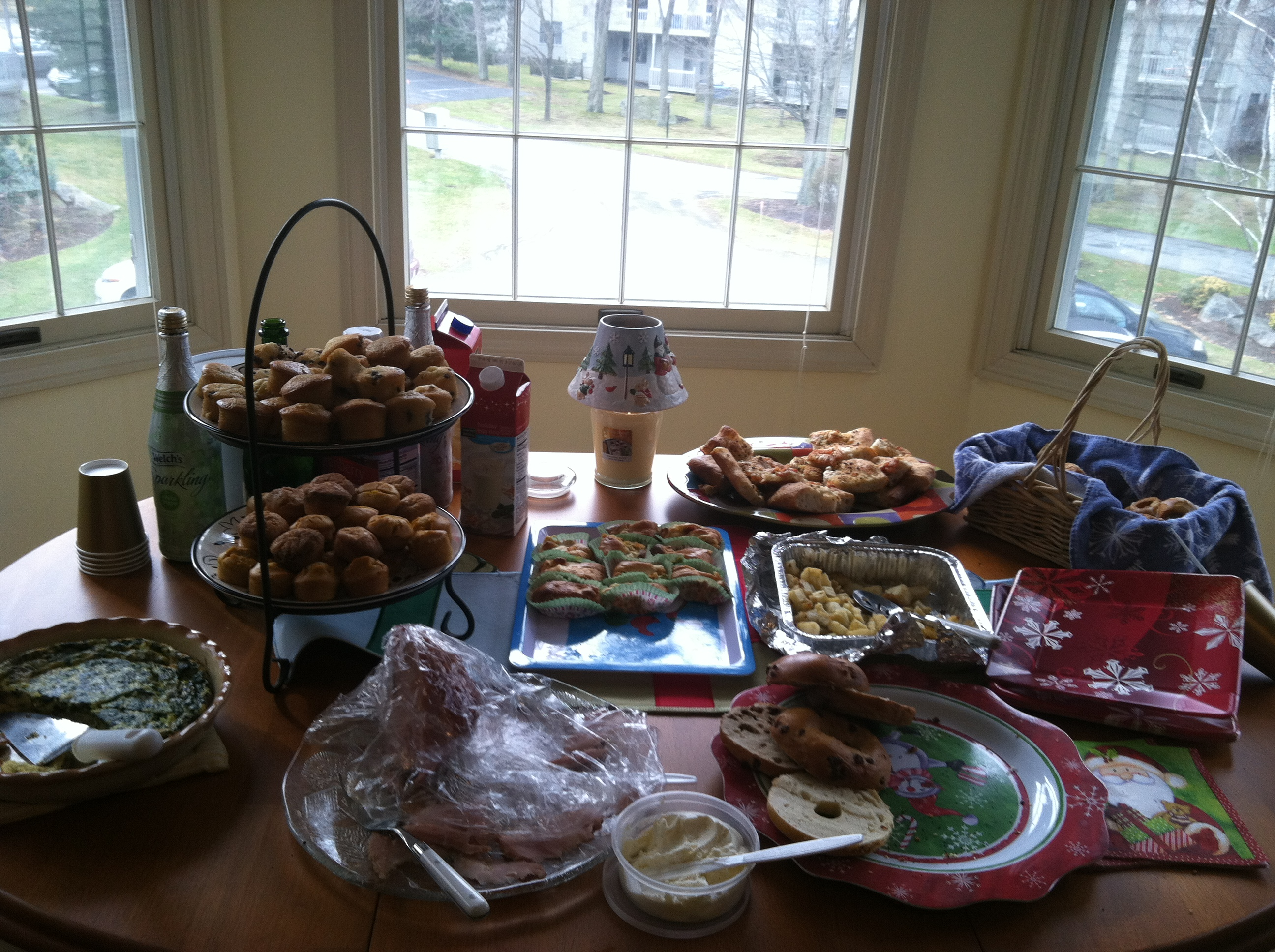 Our delicious assortment of food!