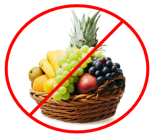 no fruit basket
