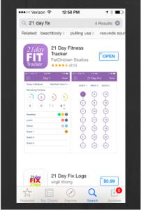 21Day Fix App