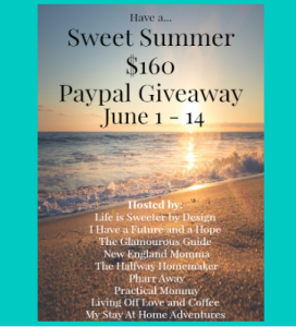 Sweet Summer $160 PayPal Giveaway