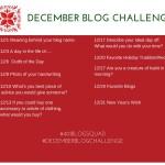 December Blog Challenge