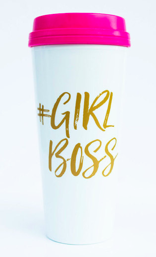Girl Boss Travel Mug 20 oz