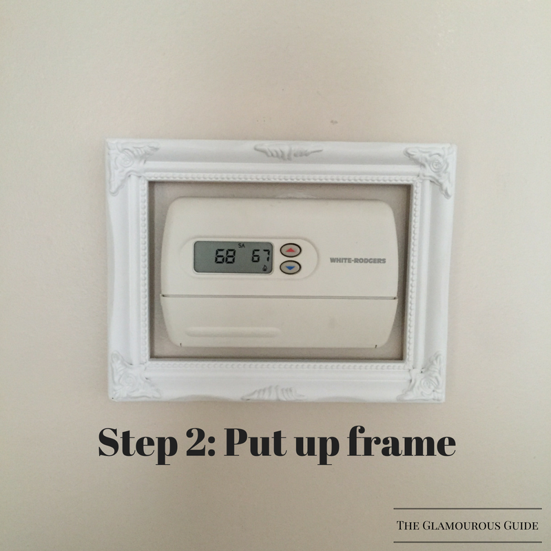 DIY Framed Thermostat